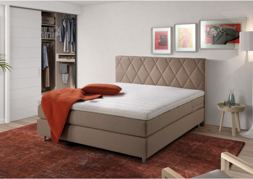 Boxspringbett DOWNTOWN DIAMOND
